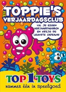 foldertje Toppie's Verjaardagsclub